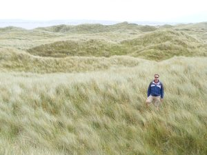 Dean on a Dune at Inch Beach