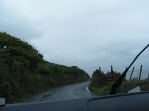 Scary driving in Ireland