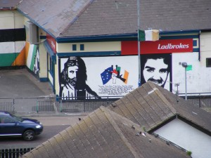 Murals in the Bogside