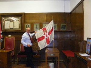 Inside the Apprentice Boys' Meeting Room